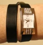 Laikrodis su Swarovski kristalais